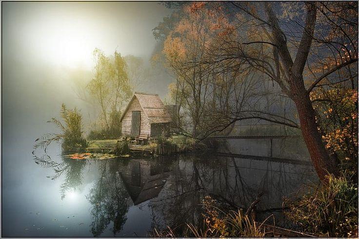 The Cabin by Gabor Dvornik