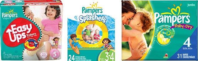 Target: FREE $5 Gift Card wyb 2 Pampers Jumbo Packs = as Low as $4.49 (Starting on 6/16)