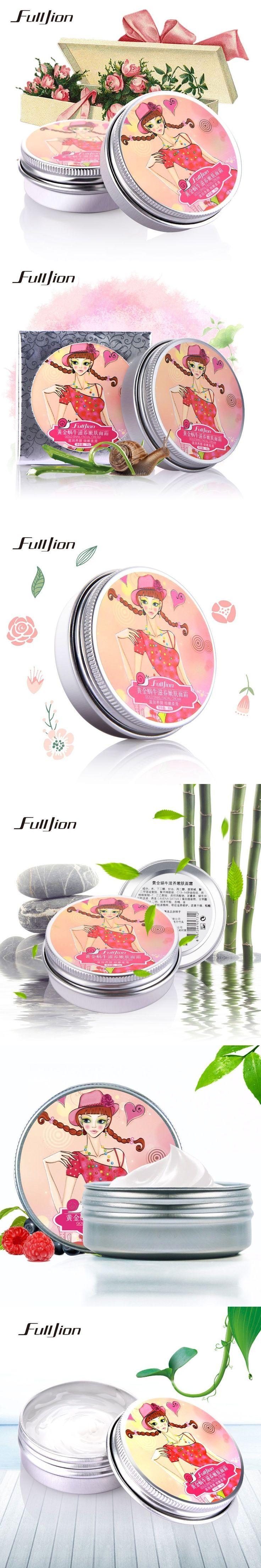 Snail Face Cream Moisturizing Anti-Aging Whitening Cream For Face Care Acne Anti Wrinkle Superfine skin care tools #facecreamsmoisturizing