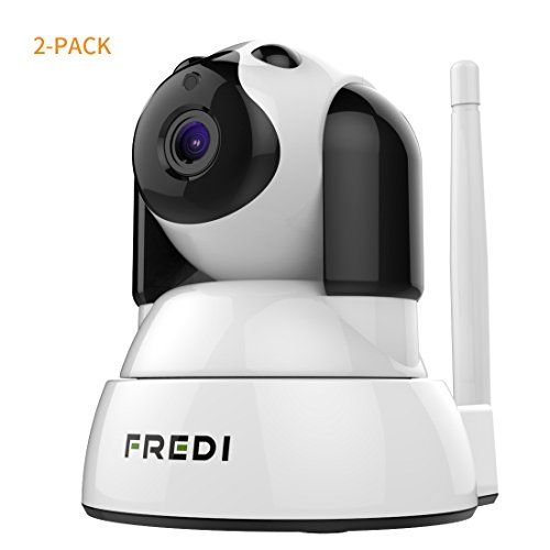 FREDI Wireless Camera Baby Monitor 720P HD Wireless Security Camera With Two-Way TalkingInfrared Night VisionPan TiltP2P Wps Ir-Cut Nanny ip Camera Motion Detection