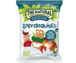 A box of 12 bags of The Natural Confectionery Company Lolly Disguises.