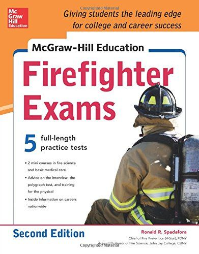 33 best exam prep guides images on pinterest number beauty your up to the minute guide for acing the firefighter exam mcgraw hill education firefighter exams offers 7 full length sample exams two more exams than fandeluxe Image collections