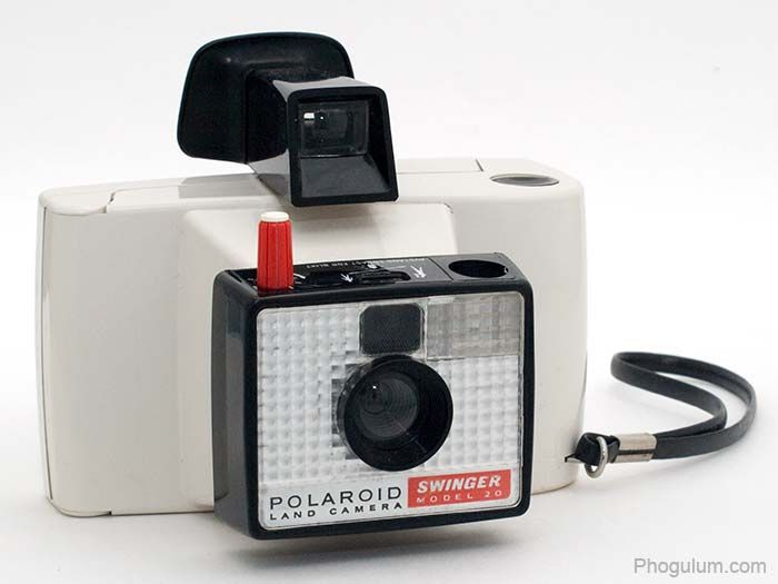 Polaroid swinger camera value