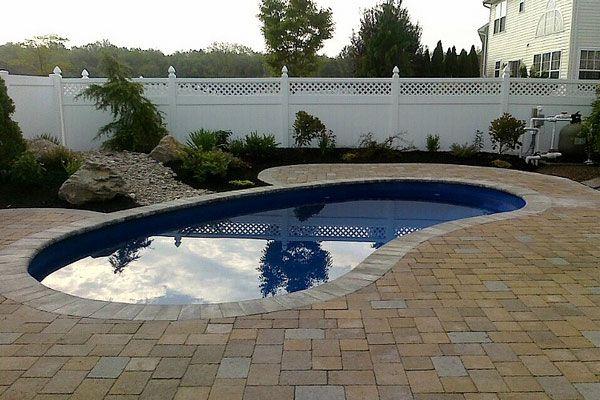 beautiful inground swimming pools for small yards | Modern Inground Swimming Polls Pictures