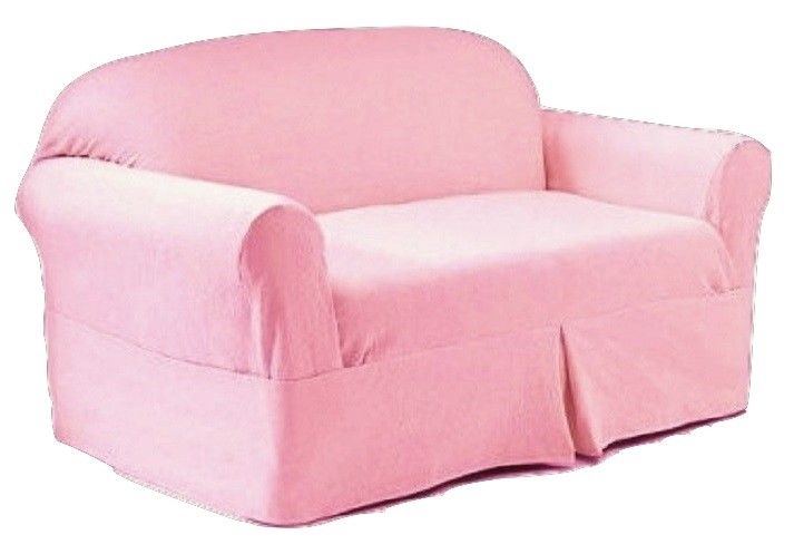 Rachel Ashwell SOFA Slipcover Pink Denim Simply Shabby Chic Couch