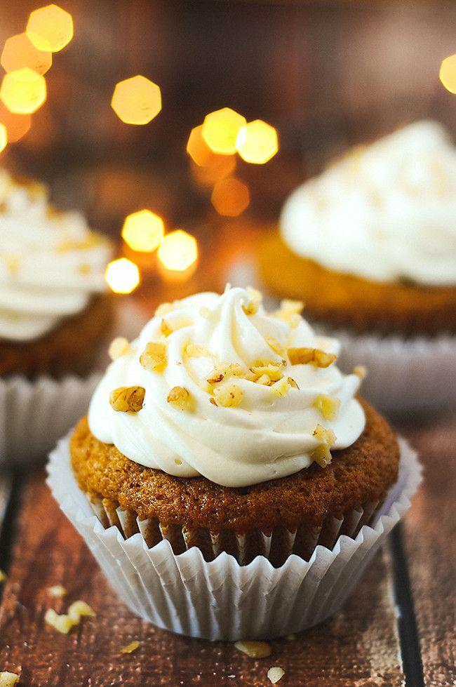 Pumpkin Spice Cupcakes | Recipe | Cream cheeses, How to ...