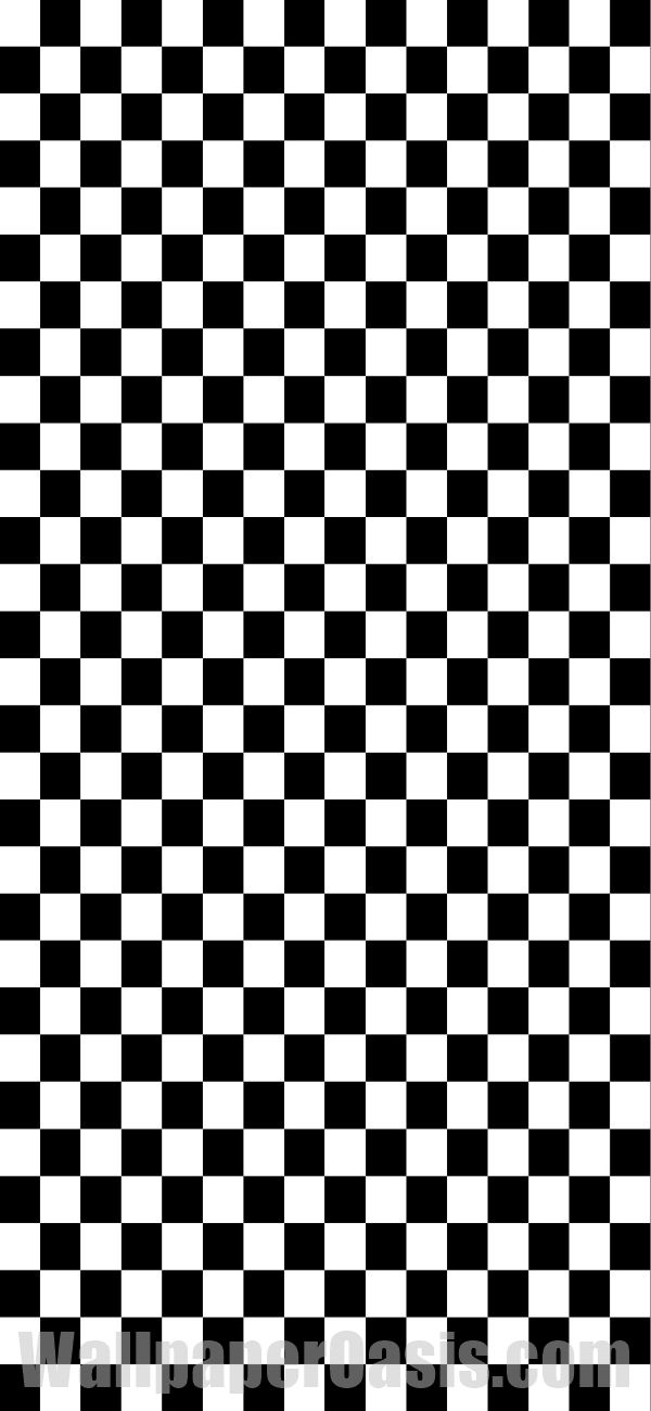 Free black and white checkered iPhone wallpaper. This design is available for iP…