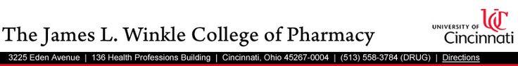 The James L. Winkle College of Pharmacy | University of Cincinnati