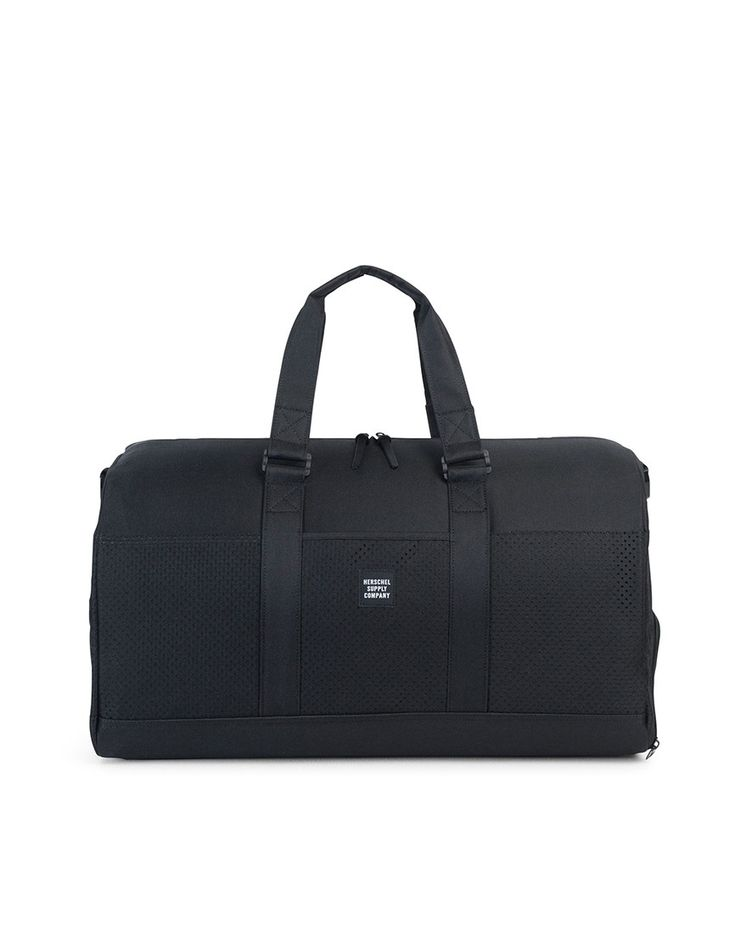 New In | Herschel - Novel Duffle Bag in Black | Shop all men's accessories at The Idle Man