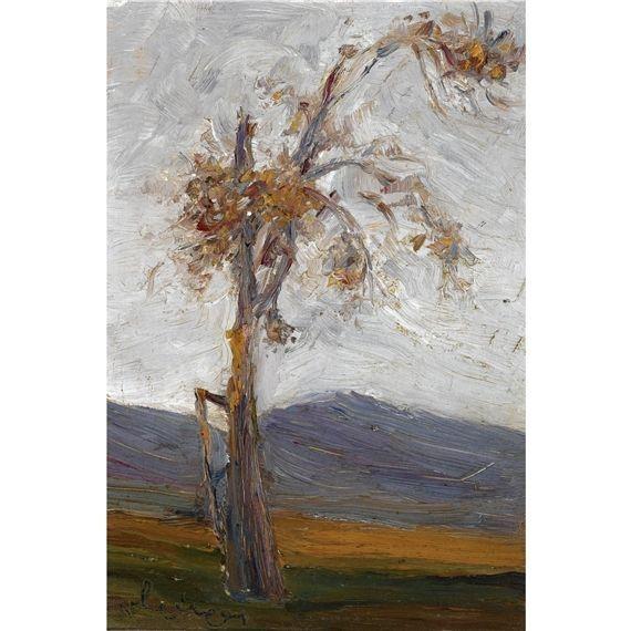 Nikolaos Lytras, Tree in a Landscape