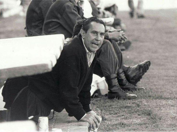 Treinador Nando Yosu. Real Racing de Santander.