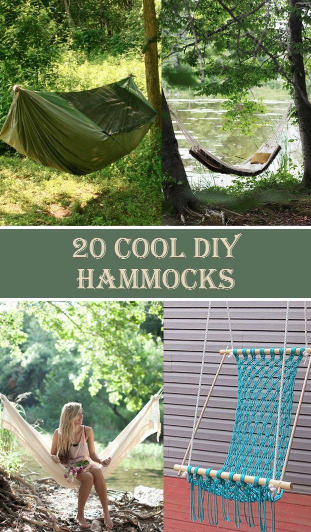 20 Cool DIY Hammock Ideas