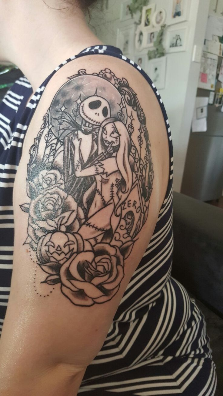 17 best ideas about nightmare before christmas tattoo on