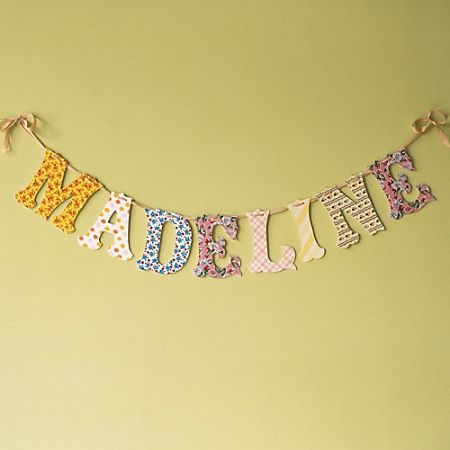 24 best Baby Girl Nursery Wall Letters images on Pinterest | Baby ...