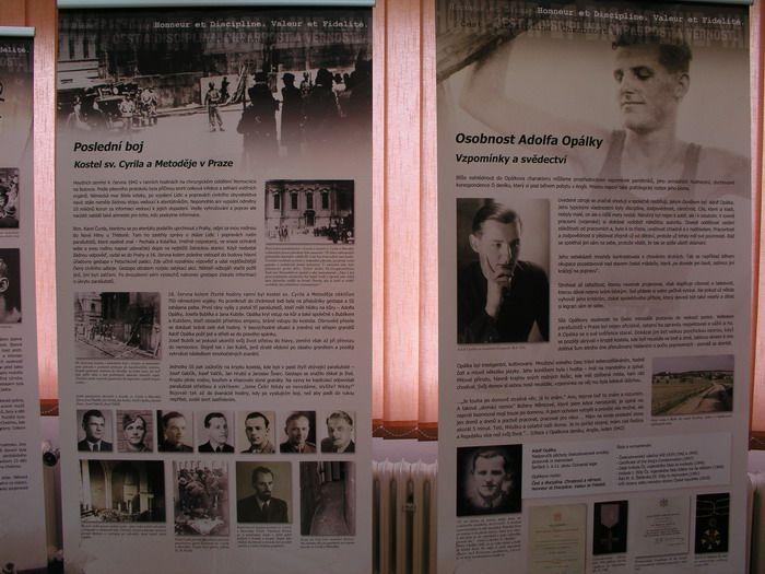 Exposition dedicated to Adolf Opálka in Rešice, Czech Republik