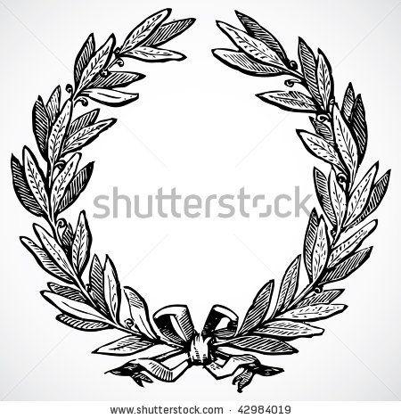 stock-vector-vector-olive-wreath-42984019.jpg (450×470)