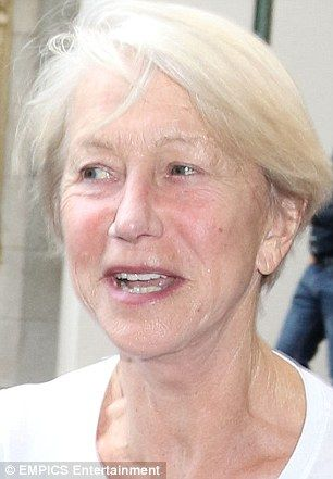 How Helen Mirren S Faced Up To Ageing And Is Make Up Free
