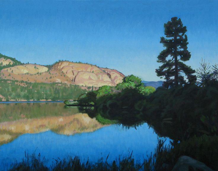 Lake Reflection, Vaseux, B.C.