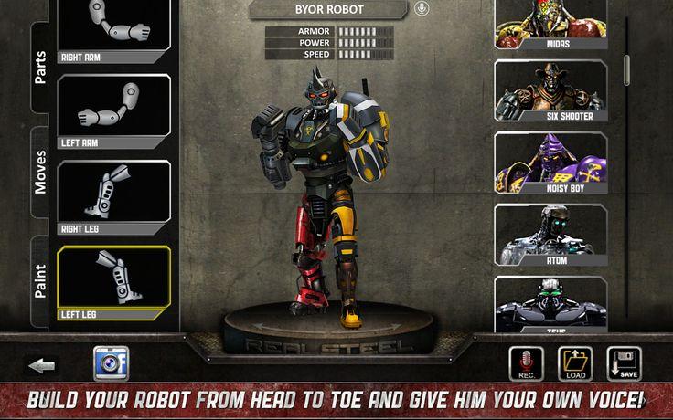 Real Steel HD APK v1.21.0 [Normal + Mod Unlocked] | Android Gamers | Android Oyun Uygulama ve Hile Paylaşım Blogu