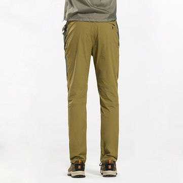 Mens Summer Outdoor Quick-drying Sport Pants Waterproof Casual Climbing Pants at Banggood