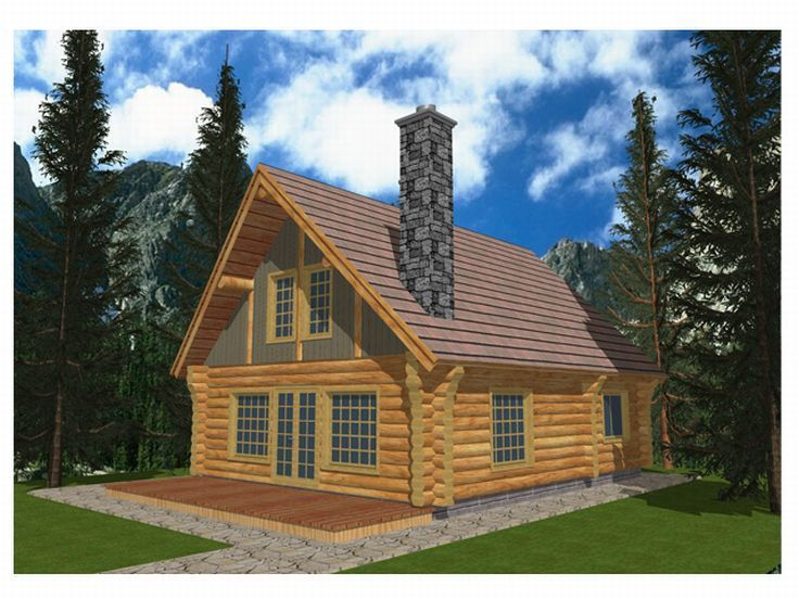 61 best Log House Plans images on Pinterest Log cabin homes Log