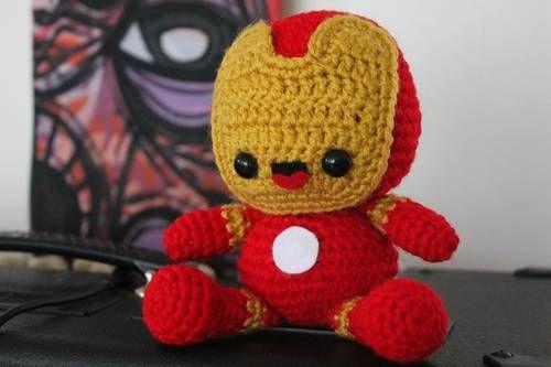 Iron Man Chibi Amigurumi - CROCHET