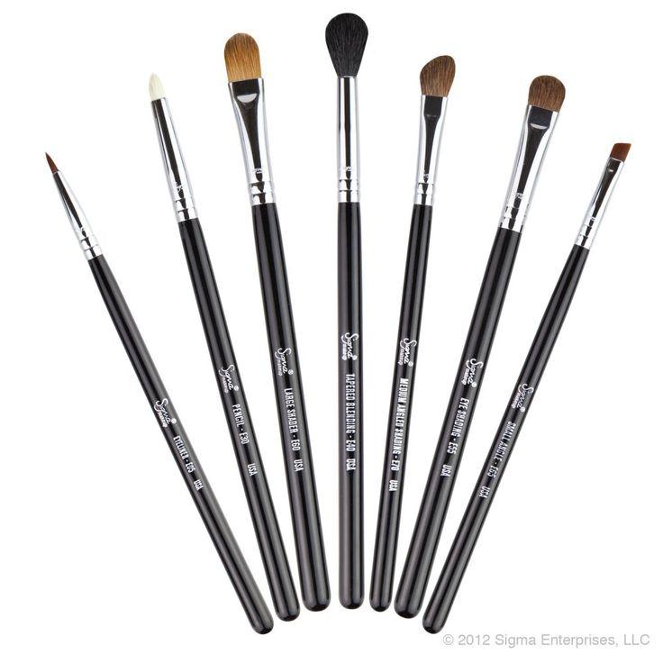eyebrow brushes kit. sigma eyes kit brush set eyebrow brushes