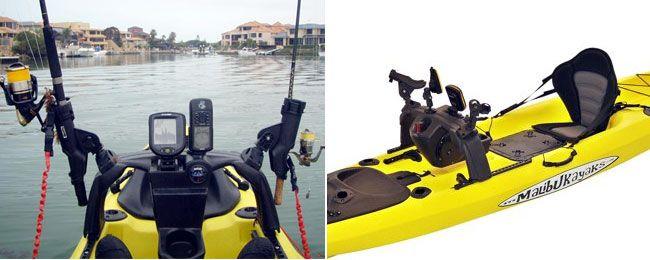 Malibu Kayaks X-Wing Sliding Console
