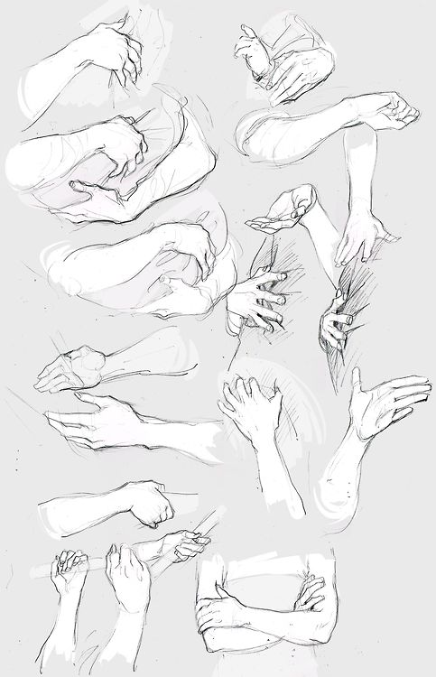 A glamorous fuck-ton of hand references. [From various sources]                                                                                                                                                                                 More