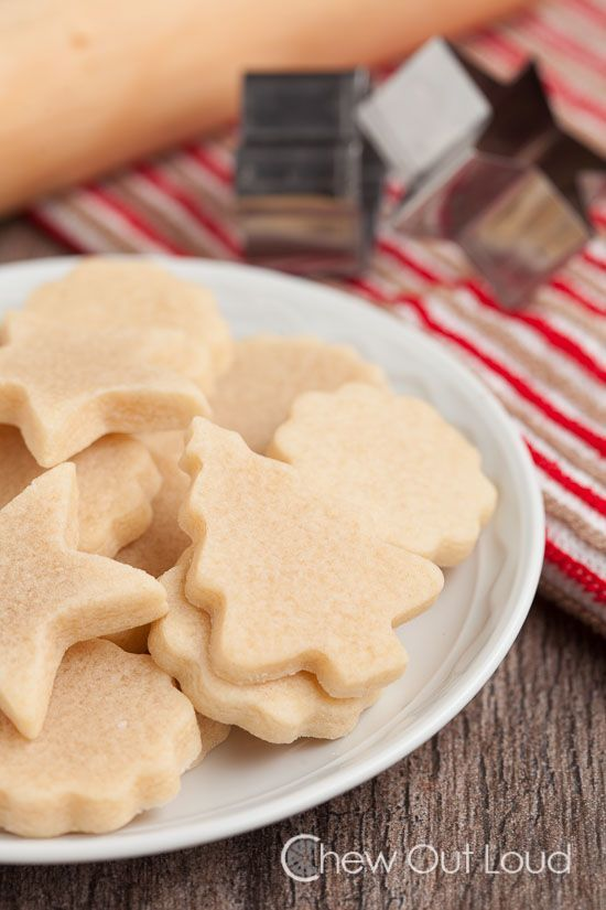 Vanilla Almond Cut-out Cookies