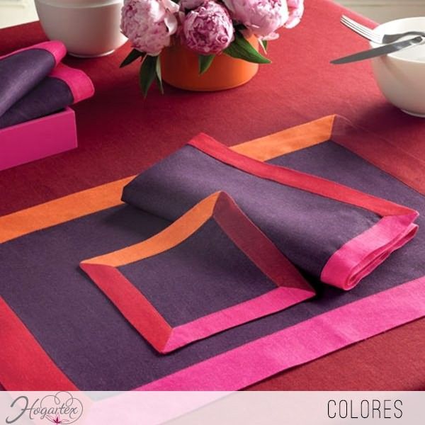 Individual colores individuales de colores para alegrar - Individuales para mesa ...