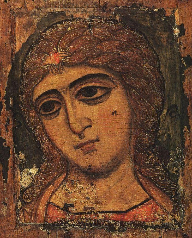 https://ru.wikipedia.org/wiki/Архангел_Гавриил Ангел Златые власы (архангел Гавриил), новгородская икона XII века, Русский музей