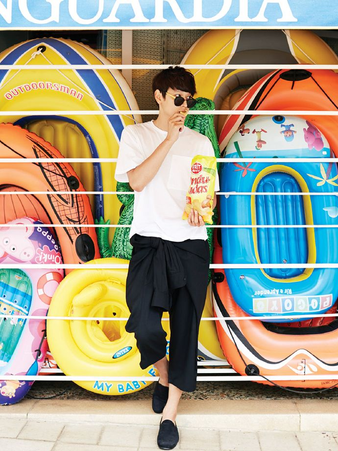 Kang Dong Won - High Cut Magazine Vol.130