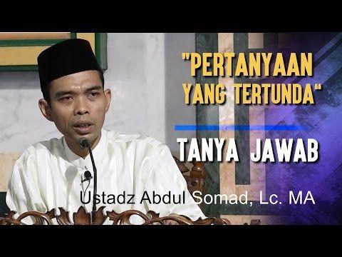 Pertanyaan yang Tertunda - Ustadz Abdul Somad, Lc. MA - YouTube