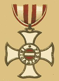 Military Order of Maria Theresa - Wikipedia, the free encyclopedia