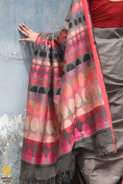 Beautifully designed & Contemporary looking #Sarees...MotherEarth store,Domlur - Bangalore