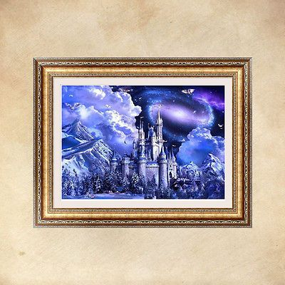 Night Sky 5D Diamond Embroidery Painting DIY Cross Stitch Craft Home Decor