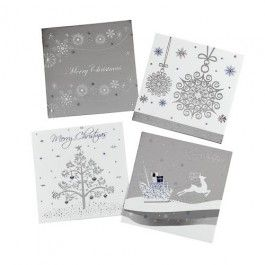 A traditional selection of Christmas cards