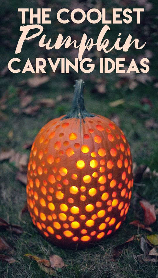 The Coolest Halloween Pumpkin Carving Ideas