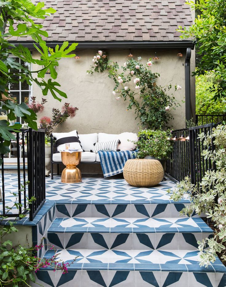 8 Ways To Turn Your Outdoor Space Into A Backyard Retreat. Patio TilesOutdoor  ...