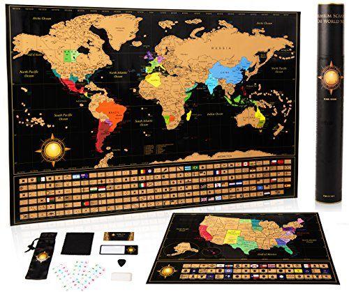 Mejores 13 imgenes de scratch off world map en pinterest mapas mapa del mundo poster mapa de estados unidos ideas de regalo de viaje mapas del mundo gumiabroncs Gallery