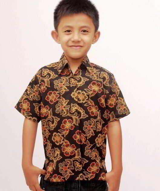 Model Baju Batik Modern Untuk Anak Laki Laki Cocok Buat Pesta