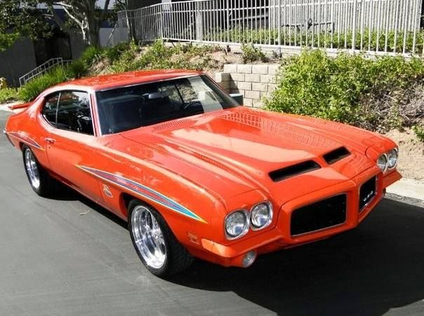 1971 Pontiac GTO Maintenance restoration of old vintage