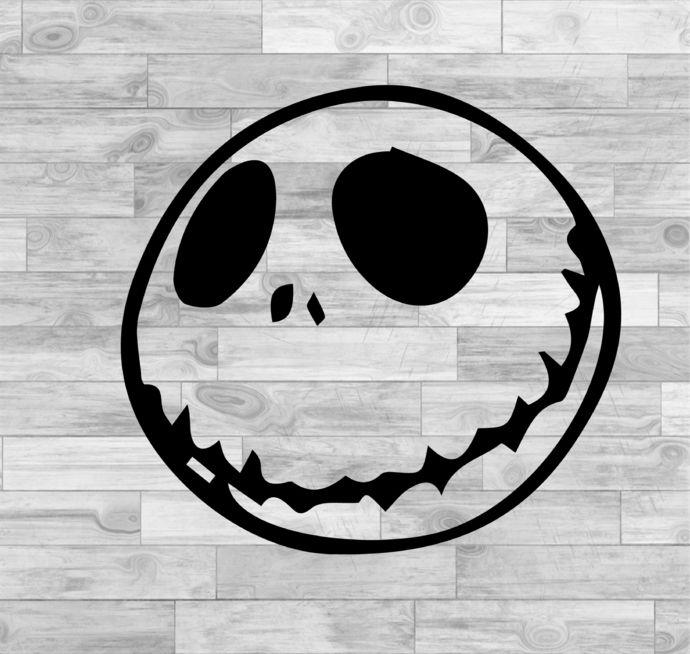 Jack Skellington Svg Jack Skellington Face Svg Nightmare Before Christmas Svg Png Jpeg Dxf Cricut Silhouette Vinyl Cutter File By Susushop 0 99 Usd