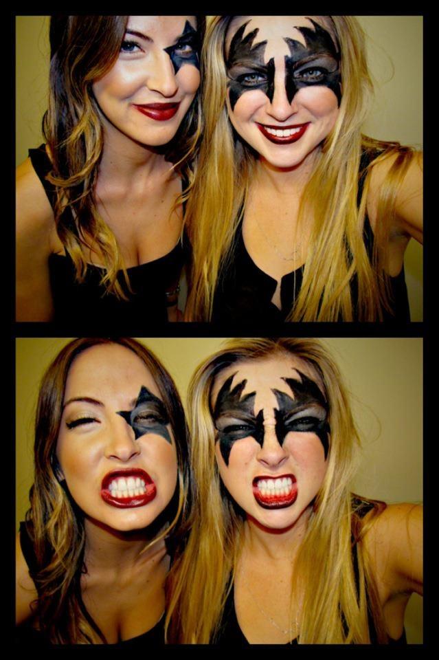 kiss halloween