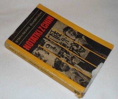 Głąbiński NOTATKI Z CHIN wyd.I 1969r