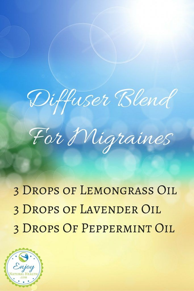 Diffuser Blend For Migraines With Lemongrass. Learn what else lemongrass can do…