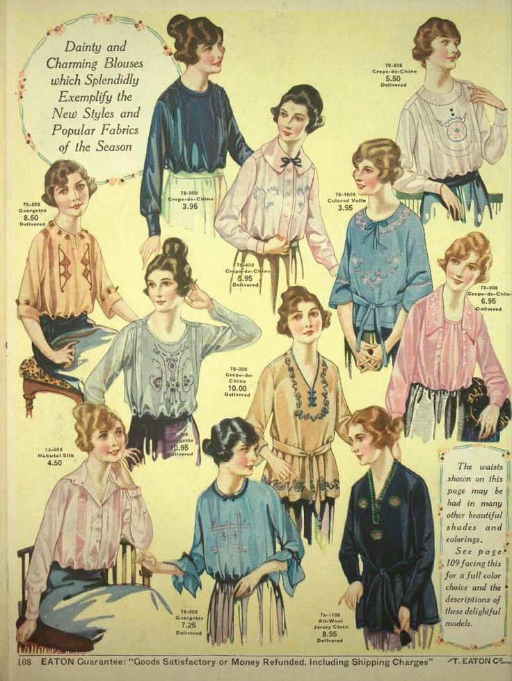 Eaton S Fall And Winter Catalogue 1920 21 Vintage Pinterest