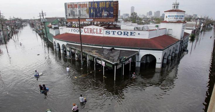 <b>Furacão Katrina nos EUA em 2005</b> -