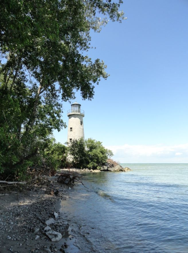Lighthouse Point, Pelee Island, Ontario, Canada.